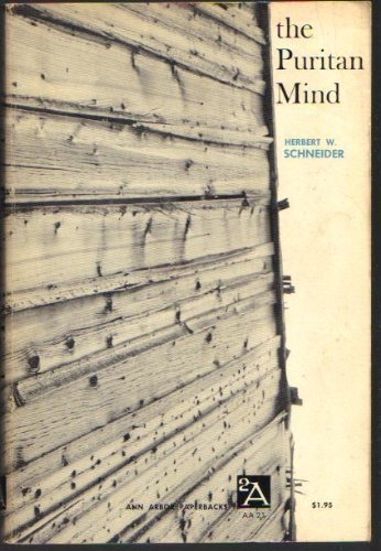 The Puritan Mind [Ann Arbor Paperbacks AA 21]