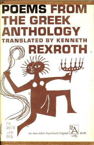 9780472060634: Poems from the Greek Anthology (Ann Arbor Paperbacks)