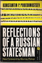 9780472061044: Reflections of a Russian Statesman