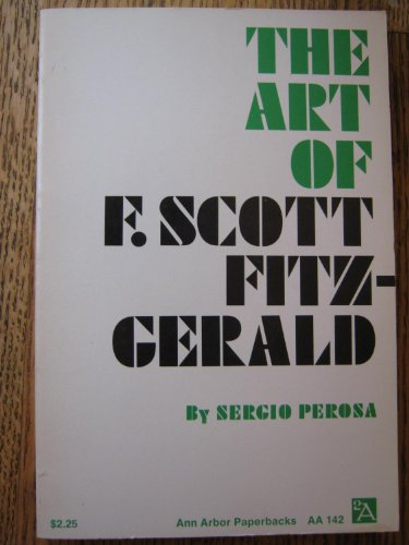 9780472061426: Art of F.Scott Fitzgerald
