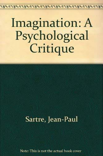 9780472061853: Imagination a Psychological Critique