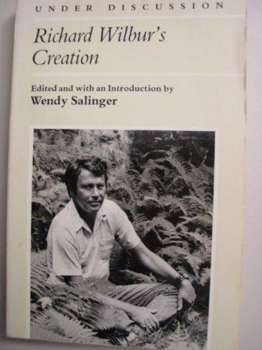 9780472063482: Richard Wilbur's Creation (Under Discussion)
