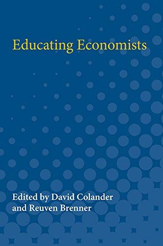 9780472064861: Educating Economists