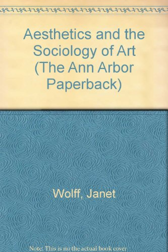 9780472064991: Aesthetics and the Sociology of Art (Ann Arbor Paperbacks)