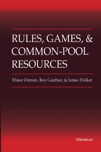 9780472065462: Rules, Games and Common-pool Resources (Ann Arbor Books)