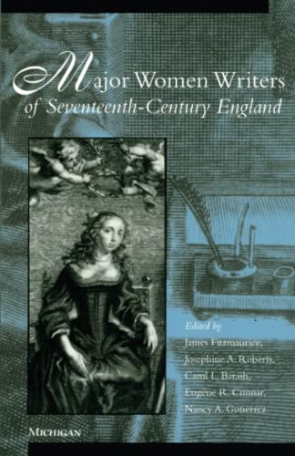 9780472066094: Major Women Writers of Seventeenth-Century England