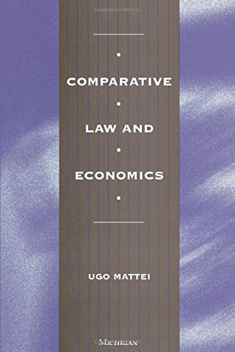 9780472066490: Comparative Law and Economics