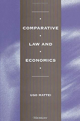Comparative Law and Economics -: Mattei, Ugo