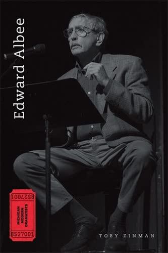 9780472069194: Edward Albee (Michigan Modern Dramatists)