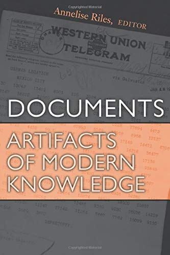 9780472069453: Documents: Artifacts of Modern Knowledge