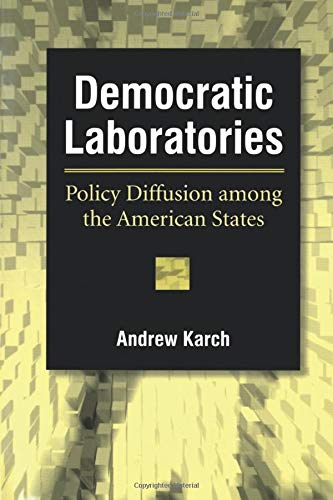 9780472069682: Democratic Laboratories: Policy Diffusion Among the American States