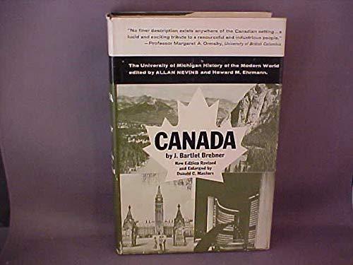 9780472070916: Canada: A Modern History (History of Modern World)