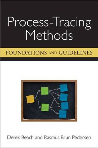 Process-Tracing Methods: Foundations and Guidelines: Derek Beach; Rasmus Brun Pedersen