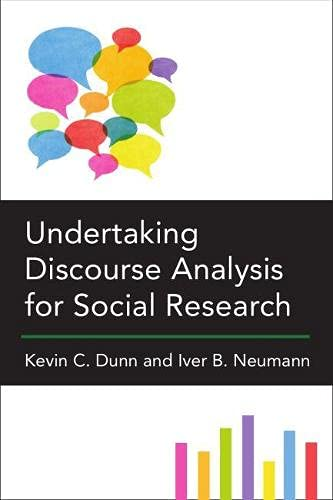 9780472073115: Undertaking Discourse Analysis for Social Research