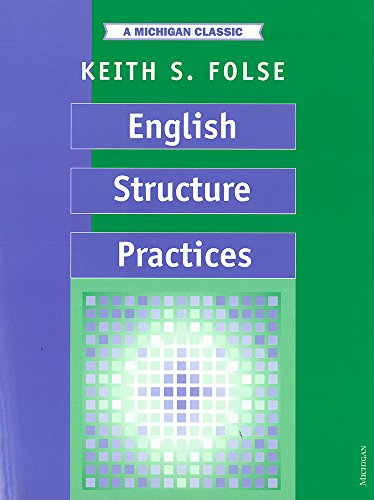 9780472080342: English Structure Practices