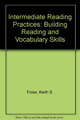 9780472080571: Intermediate Reading Practices: Building Reading and Vocabulary Skills