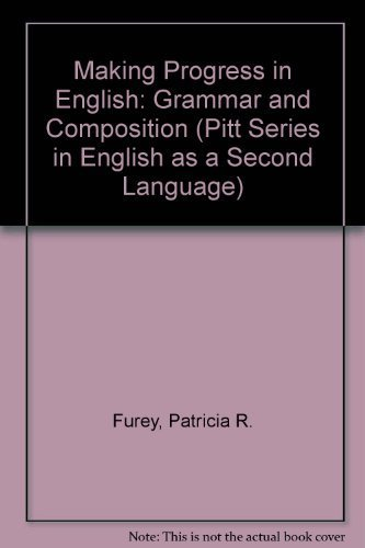 9780472081097: Making Progress in English: Grammar and Composition