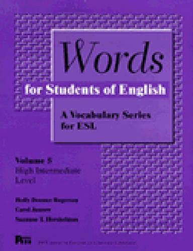 9780472082155: Words for Students of English : A Vocabulary Series for ESL, Vol. 5 (Pitt Series in English As a Second Language)