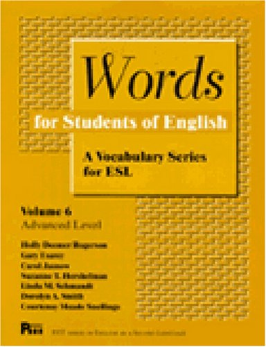 9780472082162: Words for Students of English : A Vocabulary Series for ESL, Vol. 6 (Pitt Series in English As a Second Language)