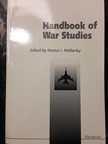 9780472082247: Handbook of War Studies