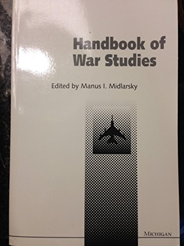 9780472082247: Handbook of War Studies