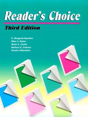 Reader's Choice: E. Margaret Baudoin,
