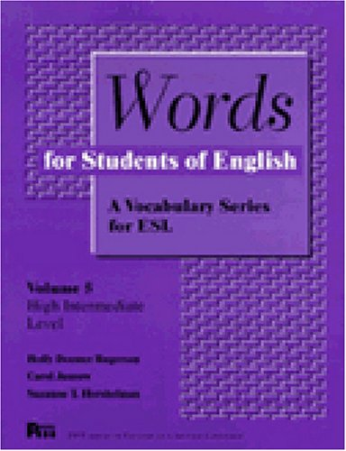 9780472083657: Words for Students of English: A Vocabulary Series for ESL, Volume 5 (Pitt Series in English as a Second Language)