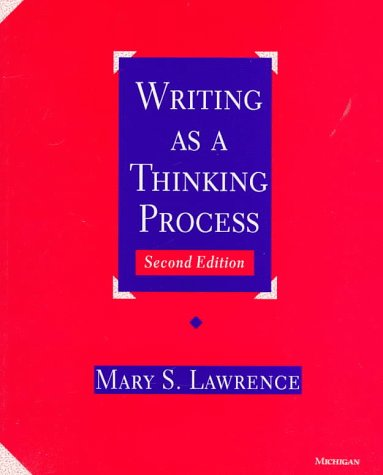 9780472083688: Writing As a Thinking Process