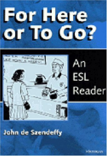 9780472083978: For Here or To Go?: An ESL Reader