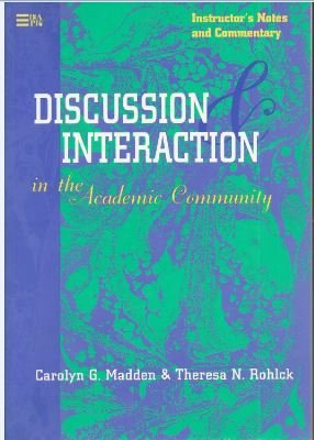 9780472084555: Discussion and Interaction in the Academic Community (English for Academic & Professional Purposes S.)