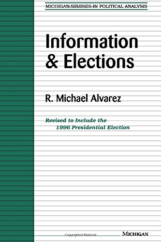9780472085750: Information and Elections (Michigan Studies in Political Analysis)