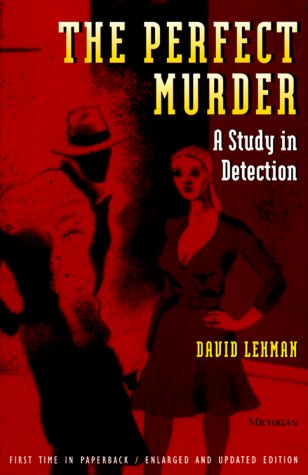 9780472085859: The Perfect Murder: A Study in Detection
