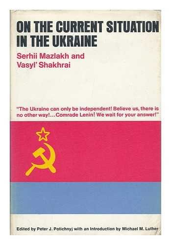9780472085903: On the Current Situation in the Ukraine