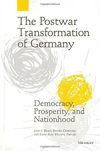9780472085910: The Postwar Transformation of Germany: Democracy, Prosperity and Nationhood