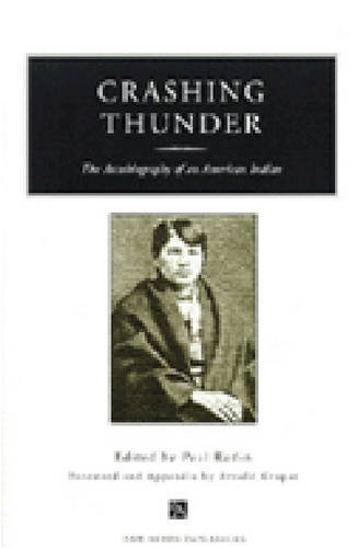 9780472086320: Crashing Thunder: The Autobiography of an American Indian (Ann Arbor Paperbacks)