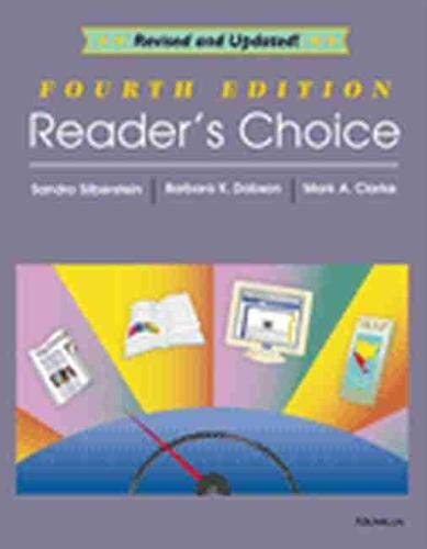 9780472086689: Reader's Choice, 4th Edition