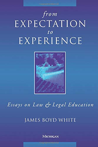 education essay expectation experience from law legal The 6th edition apa manual devotes appendix 71 to information on citing legal materials become law ) reference format in student papers (laureate education.