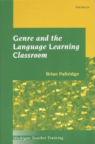 9780472088041: Genre and the Language Learning Classroom (Michigan Teacher Training)