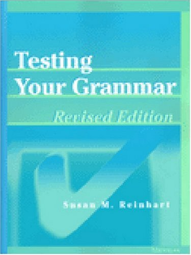 9780472088584: Testing Your Grammar, Revised Edition