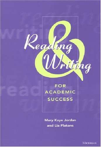 9780472088966: Reading and Writing for Academic Success