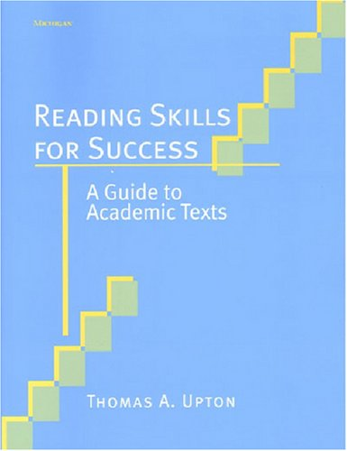 9780472089130: Reading Skills for Success: A Guide to Academic Texts