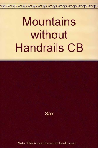 9780472093243: Mountains without Handrails CB