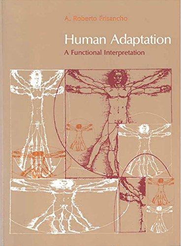 9780472095117: Human Adaptation and Accommodation