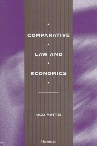 9780472096497: Comparative Law and Economics