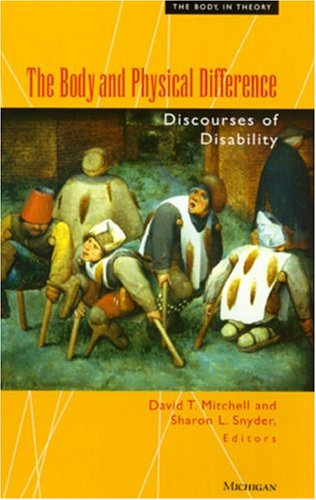 9780472096596: The Body and Physical Difference: Discourses of Disability