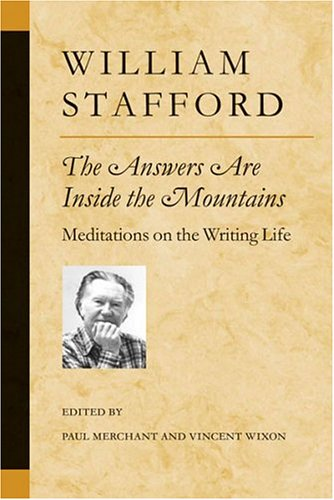 9780472098545: The Answers Are Inside the Mountains: Meditations on the Writing Life (Poets on Poetry)