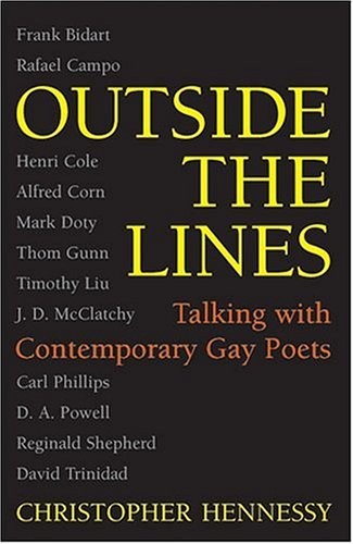 9780472098736: Outside the Lines: Talking with Contemporary Gay Poets