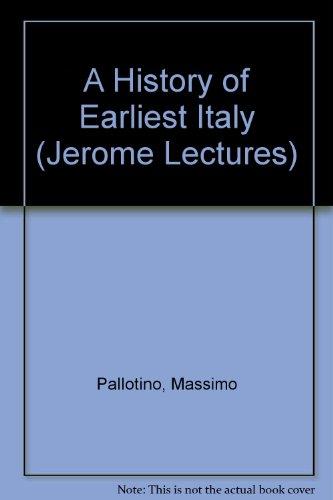 History of Earliest Italy: Pallottino, Massimo