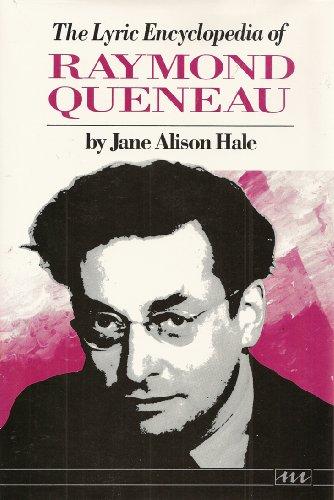 9780472101276: Lyric Encyclopedia of Raymond Queneau