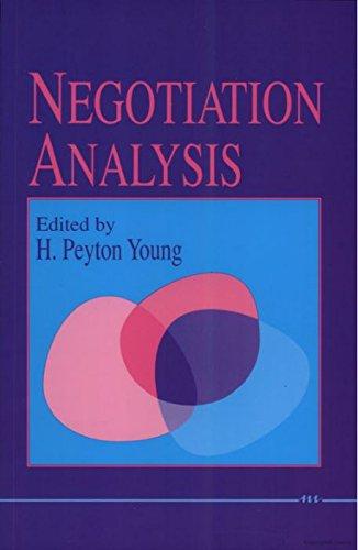 9780472102518: Negotiation Analysis